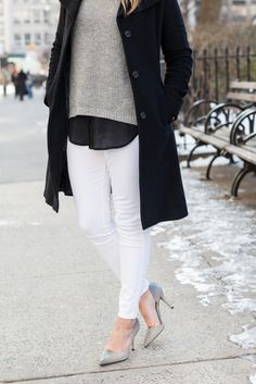 Shades of Gray | @bowsandsequins