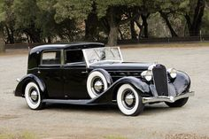 1936 Delage D8 100 Coupe Chauffeur par Franay cars classic ...