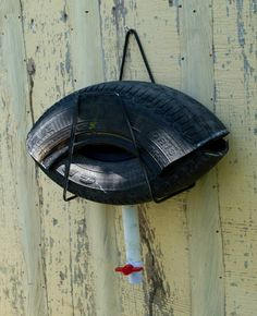 How to build a mosquito trap from an old tire.