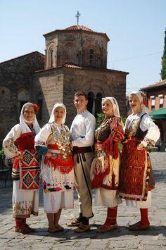 Europe, Macedonia, National Costume