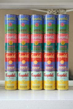 Andy Warhol limited edition Campbell's Soup. Target. Coool!