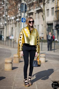 Chiara Ferragni Street Style Street Fashion by STYLEDUMONDE Street Style Fashion Blog