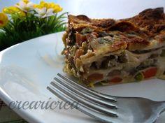 LASAGNA ALLE VERDURE - ricetta primo vegetariano