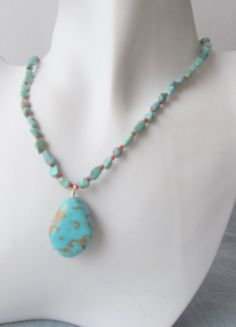 Turquoise Teardrop with Turquoise and Red by ShadowoftheCross