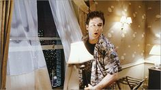 1408 with John Cusack.....a Stephen King scary.....haunted hotel room