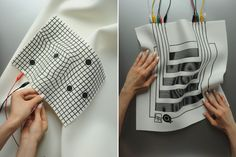 EJTech: Liquid MIDI    Sound, textile and Arduino are the key elements of this project conceived by Budapest-based studio EJTech to enable the user to create sound in real time.