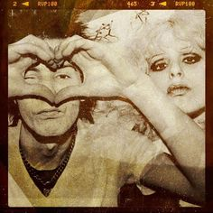 Sid & Nancy. Sid giving a heart signal. And the younger generation thinks Taylor Swift and Justin Bieber invented it.