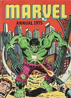 The Hulk-tastic UK Marvel Annual 1975