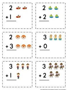 Addition With Pictures! Subtraction with Pictures {School Closure Packets} - Modern Design Kindergarten Addition Worksheets, English Worksheets For Kids, Free Kindergarten Worksheets, Homeschool Kindergarten, School Worksheets, Math Activities, Subtraction Kindergarten, Preschool Writing, School Closures