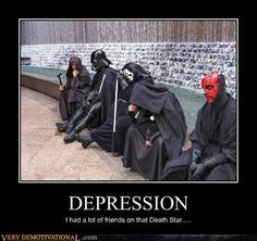 "Why can't we just get our Sith Together? This Rule of Two thing is CRAP!"" Sith Support Group : Here to lend someone else's severed helping Hand Funny Star Wars Pictures, Funny Meme Pictures, Funny Memes, Hilarious, Star Wars I, Star Wars Jokes, Death Star, Love Stars, Disney Pixar"