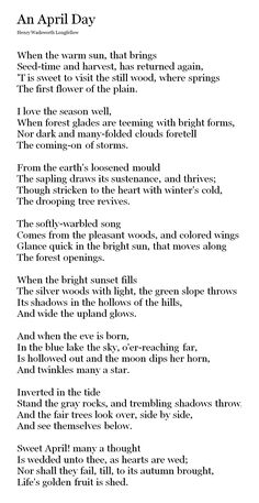 The Open Window by Henry Wadsworth Longfellow | The Written Word ...