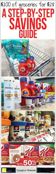 I've committed to saving even more money in 2016, so I started out the new year with a killer shopping trip to Target and Rite Aid. After coupons and rebates, I paid only $30.18 for $200.56 of stuff—that's over $160 in savings! I'm sharing my haul and eleven steps you can take today to save more money on your groceries in 2016!