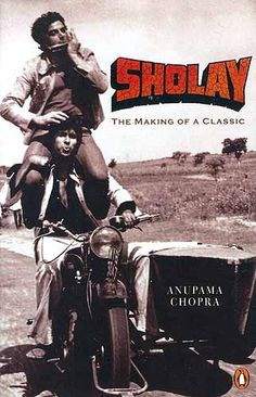 One of the great Bollywood films, Sholay, 1975 with the great Amitabh Bachchan