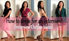 JessicaUyen-Inspired: How to Dress for an Interview Video is up!!!