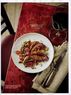laFABBRICAdelLINO | Rassegna stampa 📰 I tovaglioli della collezione Bordi & Cornici sono presenti anche su Sale & Pepe. Sweet November!  🍂 🍁  #laFABBRICAdelLINO #RassegnaStampa #Cucina #BordieCornici #Casa #Ricette