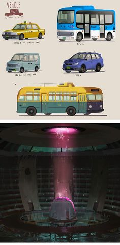 Um pouco mais de Big Hero 6!, por Watanabe, Yamada e Ying | THECAB - The Concept Art Blog