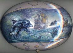 """Dolphins"" view 2 by KnyazevSergey.deviantart.com on @DeviantArt"