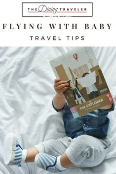 Travel tips on how to fly with a baby. What to pack and how to organize for a flight with baby.