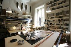Achille Castiglioni's Studio in Milan 3