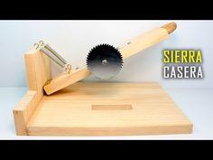 Sierra Casera   Sierra circular Casera   Sierra de Banco ó Mesa Casera - YouTube