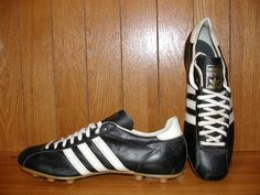 Vintage 70s Adidas Speed Soccer Boots Shoes Made in France Size 12 5 | eBay