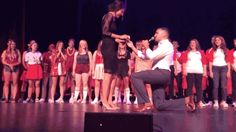This reenactment of Pitch Perfect made for the PERFECT proposal. | 22 Fiancé's Who Did The Absolute Most For Their Marriage Proposal