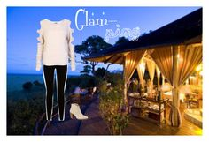 """""""Glamping"""" by kaitlinferreira ❤ liked on Polyvore featuring Givenchy, UGG Australia, vacation, summer2015 and glamping"""
