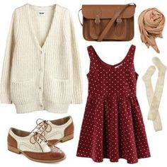 15 outfit ideas to wear a pretty dress - New hairstyles style 2018 - Kleidung - Hipster Outfits, Mode Outfits, Fall Outfits, Casual Outfits, Fashion Outfits, Womens Fashion, Dress Fashion, Hipster Fashion, Fashion Ideas