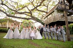 gray Wedding party outfits  Hermosa Boda Rustic Chic en Hacienda Don Carmelo, Vega Baja