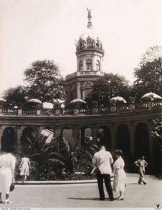 można było wejść na wieżę i podziwiać widoki!!Rok 1936