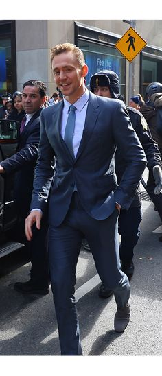 Tom Hiddleston at NBC Studios in New York City during an appearance on 'The Today Show' on March 24, 2016. Higher resolution image: http://ww4.sinaimg.cn/large/6e14d388jw1f299mjrilfj22o0400u0x.jpg Source: Torrilla, Weibo http://www.weibo.com/1846858632/DnUmpvGM1?from=page_1005051846858632_profile&wvr=6&mod=weibotime&type=comment#_rnd1458916851506