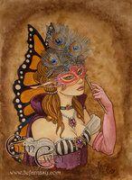 Masquerade: The Princess by LiquidFaeStudios
