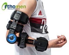 Orthomen ROM Post Op Elbow Brace for Hyperextension--Functions: Immobilization of the elbow in increments Limit ROM by adjustable simple setting hinges Mcl Knee Brace, Hip Brace, Hinged Knee Brace, Plantar Fasciitis Night Splint, Medical Engineering, Soft Tissue Injury, Arm Sling, Spinal Cord Injury, Tennis Elbow