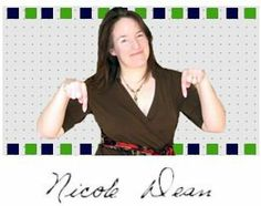 "Nicole Dean - NAMS Instructor and Busy Marketers Coach. Nicole says, ""You don't have to be perfect to be profitable!""   Check out her website: http://nicoleonthenet.com"