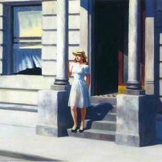 """Edward Hopper """"Summertime"""""""