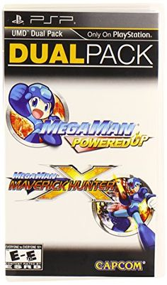 Mega Man Powered Up and Maverick Hunter X Dual Pack  PlayStation Portable *** Find out more about the great product at the image link.