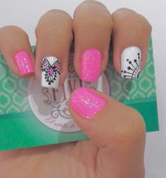 Nail Art Designs, Art Ideas, Manicure, Hair, Templates, French People, French Tips, Short Nail Manicure, Nail Manicure