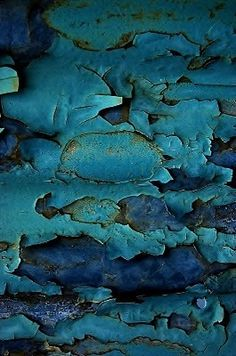 New Nature Texture Inspiration Peeling Paint Ideas Foto Macro, Texture Photography, Peeling Paint, Paint Chips, Texture Art, Blue Texture, Belle Photo, Textures Patterns, Shades Of Blue