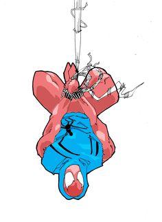 Scarlet Spider - Luke Parker a.k.a. future-parker