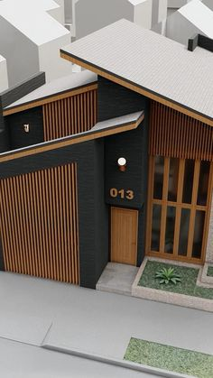 Village House Design, Duplex House Design, House Front Design, Roof Design, Small House Design, Facade Design, Modern House Facades, Modern Exterior House Designs, Modern House Design