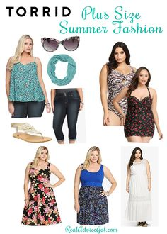 Summer Plus Size Fashion Tips. Use Torrid coupon to take $75 Off Orders Over $225   #TorridSummerStyle #ad
