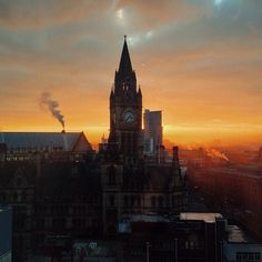 In the winter months, Manchester has some stunning sunsets. This photo originally appeared on the @WeAreMCR Instagram account and was taken by IG user 'Moeen Kurdi'.