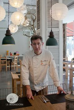 Josechu Corella. Chef de la Bald'Onsera. Una estrella Michelín