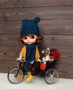 Купить Велосипед с фаэтоном для Блайз в интернет магазине на Ярмарке Мастеров
