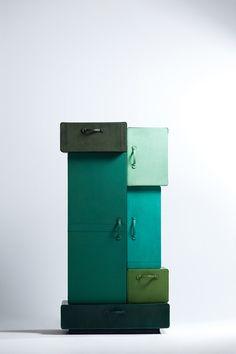 Design crush of the day: Pile Of Suitcases - Maarten De Ceulaer. #interieur14 #interieurbiennale #kortrijk @COVET LOUNGE