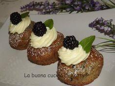 La buona cucina di Katty: Cupcakes alle more