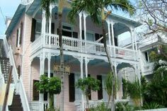 the charming Key West Bed and Breakfast is situated in a lovely, three-story, historic Victorian in the Old Town of Key West.
