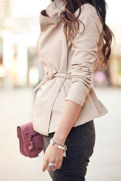 Chic jacket.