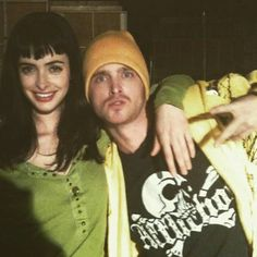 Sup @therealkrystenritter @glassofwhiskey #BreakingBad