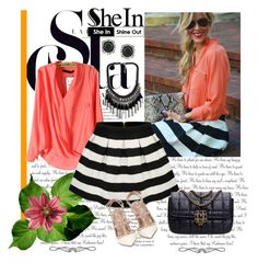 """""""Shein.com 2/9"""" by fashionb-784 ❤ liked on Polyvore featuring Valentino, Mark Broumand and shein"""